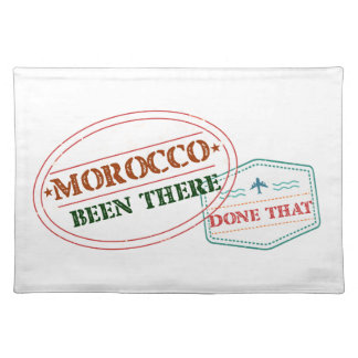 Morocco Been There Done That Placemat