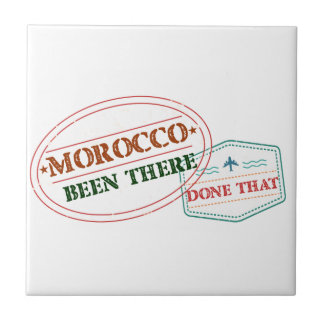 Morocco Been There Done That Tile