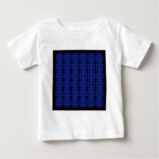 MOROCCO BLUE BLACK Fashion handdrawn Art Baby T-Shirt