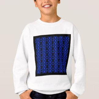 MOROCCO BLUE BLACK Fashion handdrawn Art Sweatshirt