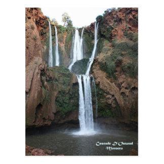 Morocco-Cascade D'Ouzoud Postcard