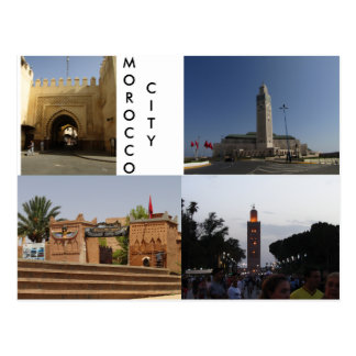 Morocco City Postcard