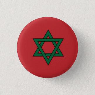 Morocco Flag 1 Inch Round Button