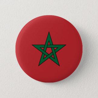 Morocco Flag 2 Inch Round Button