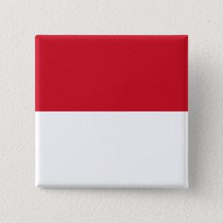 Morocco Flag 2 Inch Square Button