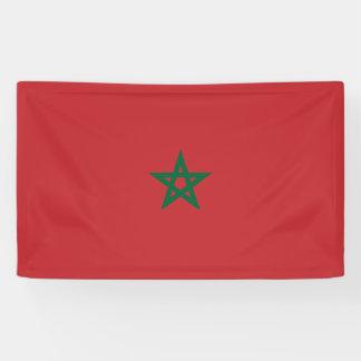 Morocco Flag Banner