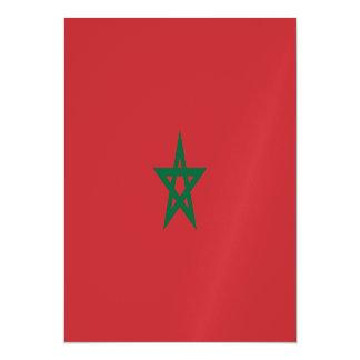 Morocco Flag Magnetic Invitations