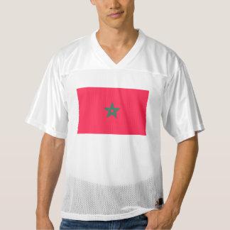 Morocco Flag Men's Football Jersey