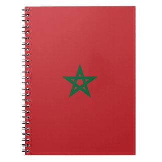 Morocco Flag Notebooks
