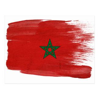 Morocco Flag Postcards