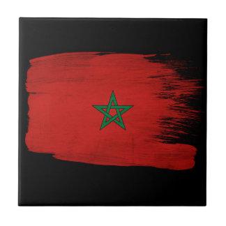 Morocco Flag Tile