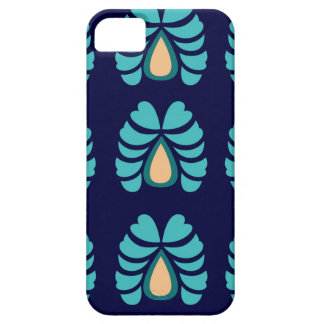 MOROCCO FOLK FLOWERS HAND PAINTED iPhone 5 COVERS