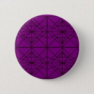 Morocco Geometric luxury Art / Crystal edition 2 Inch Round Button