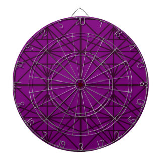 Morocco Geometric luxury Art / Crystal edition Dartboard