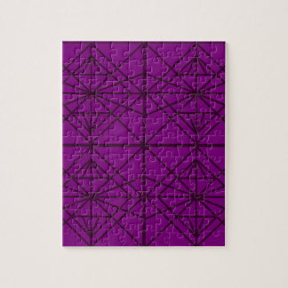 Morocco Geometric luxury Art / Crystal edition Jigsaw Puzzle