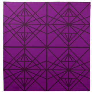 Morocco Geometric luxury Art / Crystal edition Napkin