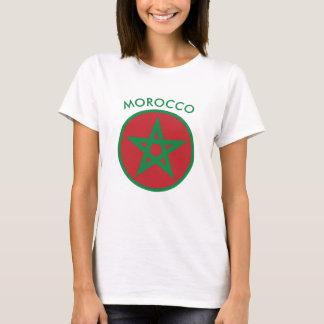 Morocco - Moroccan Flag T-Shirt. T-Shirt
