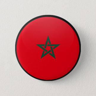 Morocco quality Flag Circle 2 Inch Round Button