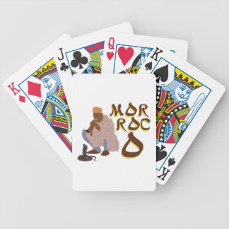 Morocco Snake Charmer Bicycle Playing Cards