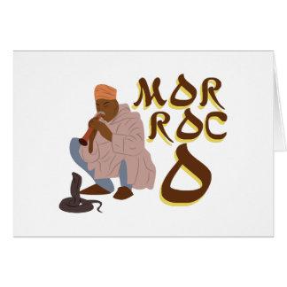 Morocco Snake Charmer Card