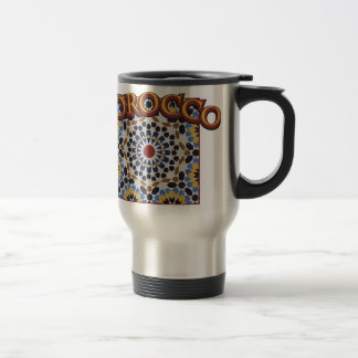 Morocco Tile Travel Mug