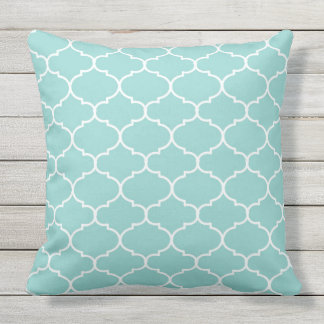 Moroccon Background Pattern Outdoor Pillow