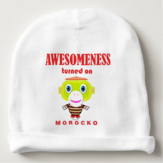 Morocko - Awesomeness Turned On Baby Beanie