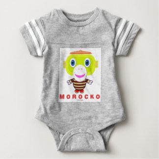 Morocko-Cute Monkey Baby Bodysuit