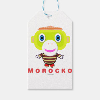 Morocko-Cute Monkey Gift Tags