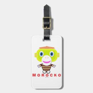 Morocko Luggage Tag
