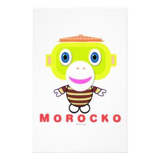 Morocko Stationery Design