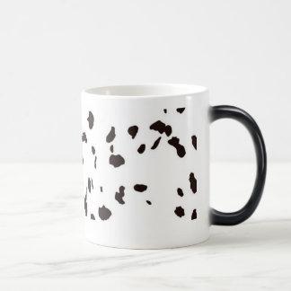 Morphing Mug - Dalmation Dog Spots / Cow Spots