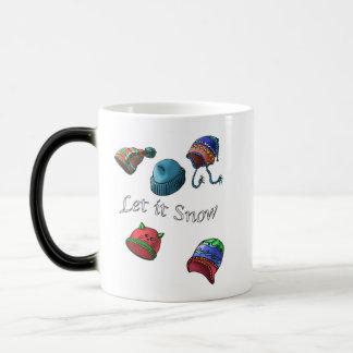 Morphing Mug, let it snow Magic Mug