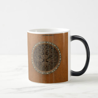 Morphing Stradivarius Guitar Coffee Mug