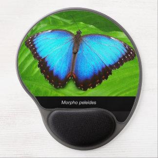 Morpho peleides gel mouse pad