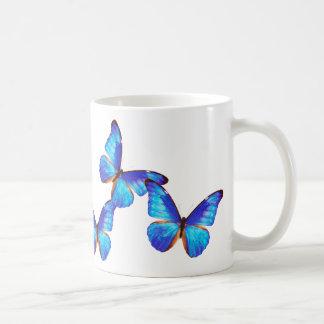 """Morpho rhetenor"" and No.01 Classic White Coffee Mug"