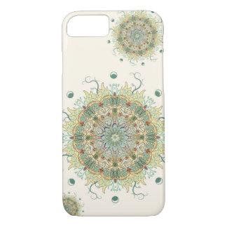 Morris Artichoke Flower Mandala Phone Case