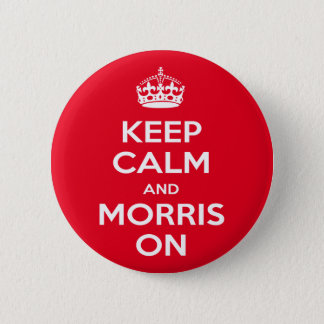 Morris Dancing 2 Inch Round Button