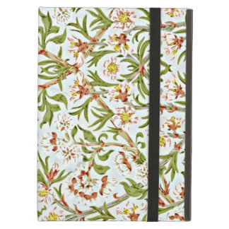 Morris - Delicate Floral Blossom Pattern iPad Air Cover