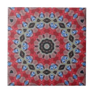 Morris Folk Dance Inspired Design Ceramic Tiles