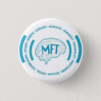 Morris Freethinkers 1 Inch Round Button