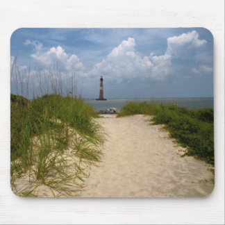 Morris Island Lighthouse Mouse Pad