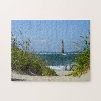 Morris Island Lighthouse Walkway Jigsaw Puzzle