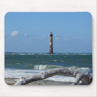 Morris Lighthouse And Tree Remains Mouse Pad