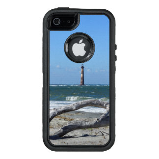 Morris Lighthouse And Tree Remains OtterBox Defender iPhone Case