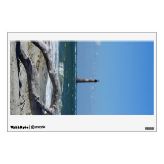 Morris Lighthouse And Tree Remains Wall Sticker