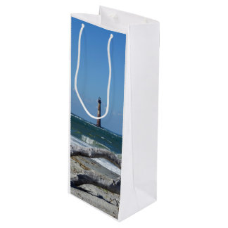 Morris Lighthouse And Tree Remains Wine Gift Bag
