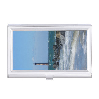 Morris Lighthouse Folly Beach Business Card Holder