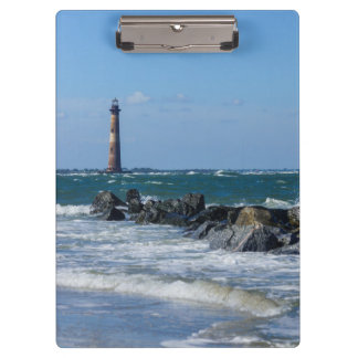 Morris Lighthouse Folly Beach Clipboard