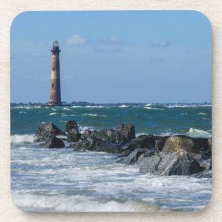 Morris Lighthouse Folly Beach Coaster